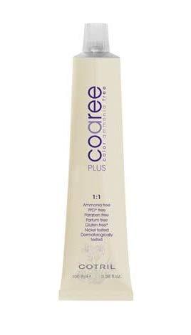 Cotril Coaree tinta per capelli 1.1 Nero Blu 100ml Senza Ammoniaca, PPD, Parabeni, Glutine, Nickel