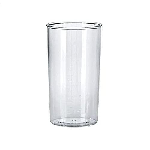 Anakel Home- Vaso medidor de cocina, capacidad 0,6L de plástico para medir cantidades líquidos, complemento de batidora
