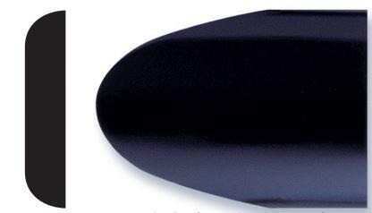 Trim-Gard 2' All Black Body Side Molding (Black, 2 @ 8 Feet)