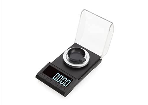 3T6B Báscula Electrónica de cocina 0.001g/20g, Miligramos Bascula, Digital Báscula de Alta Precisión LCD, Portátil Escala de bolsillo, para ponderar, Joyas, Oro, Diamante, Píldoras