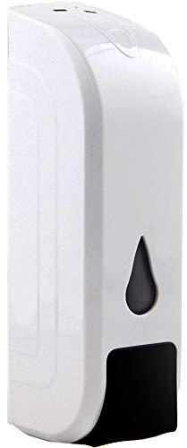 Lvozize Dispensador de Desinfectante Manos,350ML Dispensador Jabón Dispensador de Gel de Ducha para Baño Cocina Pared (1pack)
