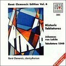 Ren? Clemencic - The Tabulature of Johannes von Lublin (Clavicytherium Music of the Late Middle Ages and the Renaissance) by Von Lublin