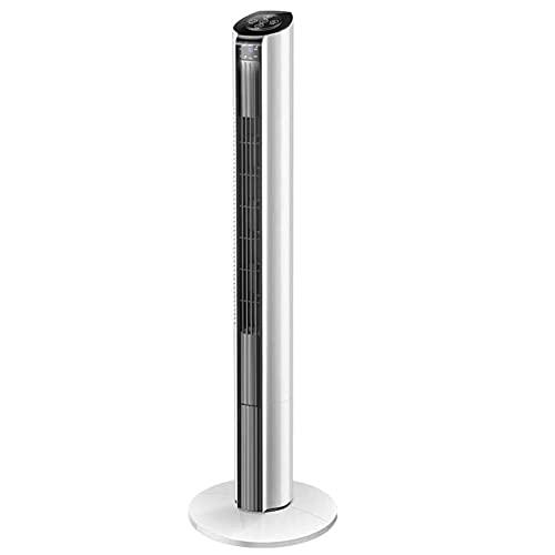 GAO-bo Ventilatori A Torre, Silenzioso Ventilatore Raffreddato Ad Acqua Senza Foglie Silenzioso Condizionatore D'aria Verticale Intelligente Telecomando Ventilatore Aria Condizionata, Grande Volume D'