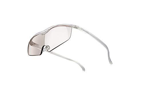 Hazuki ハズキルーペ 直営店 公式店 限定 倍率交換保証付き ラージ 1.6倍 カラーレンズ パール ハズキ 拡大鏡 ルーペ メガネ型 眼鏡型 めがね型 メガネ 眼鏡 めがね 日本製 MADE IN JAPAN ギフト