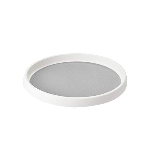 Storage Carousel Plastic Round Anti-Skid Reinforced Rotary Storage Turntable Home & Garden Housekeeping & Organizers Christmas for Faclot