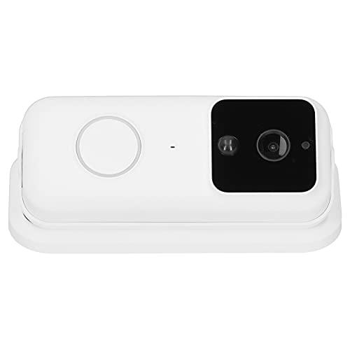 Timbre inteligente, conveniente timbre con cámara inteligente 1080P con intercomunicador telefónico visible, con función de visión nocturna por infrarrojos, PIR Motion IR-Cut Tiempo de espera prolonga