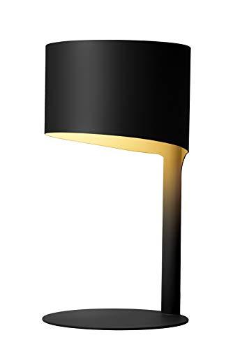 Lucide KNULLE - Tischlampe - Ø 15 cm - 1xE14 - Schwarz