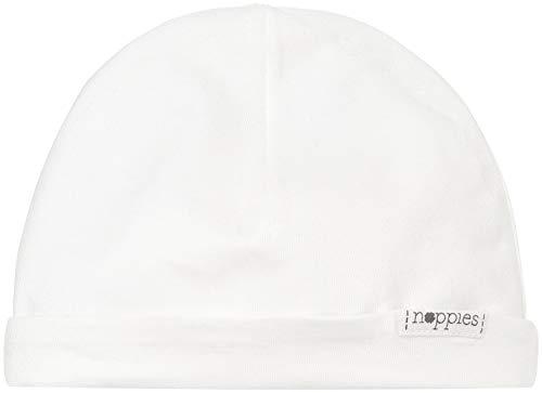 Noppies U Hat Rev Babylon Gorro, Blanco, Talla Alemana: Neugeboren (Herstellergröße: 0M-3M) para Bebés