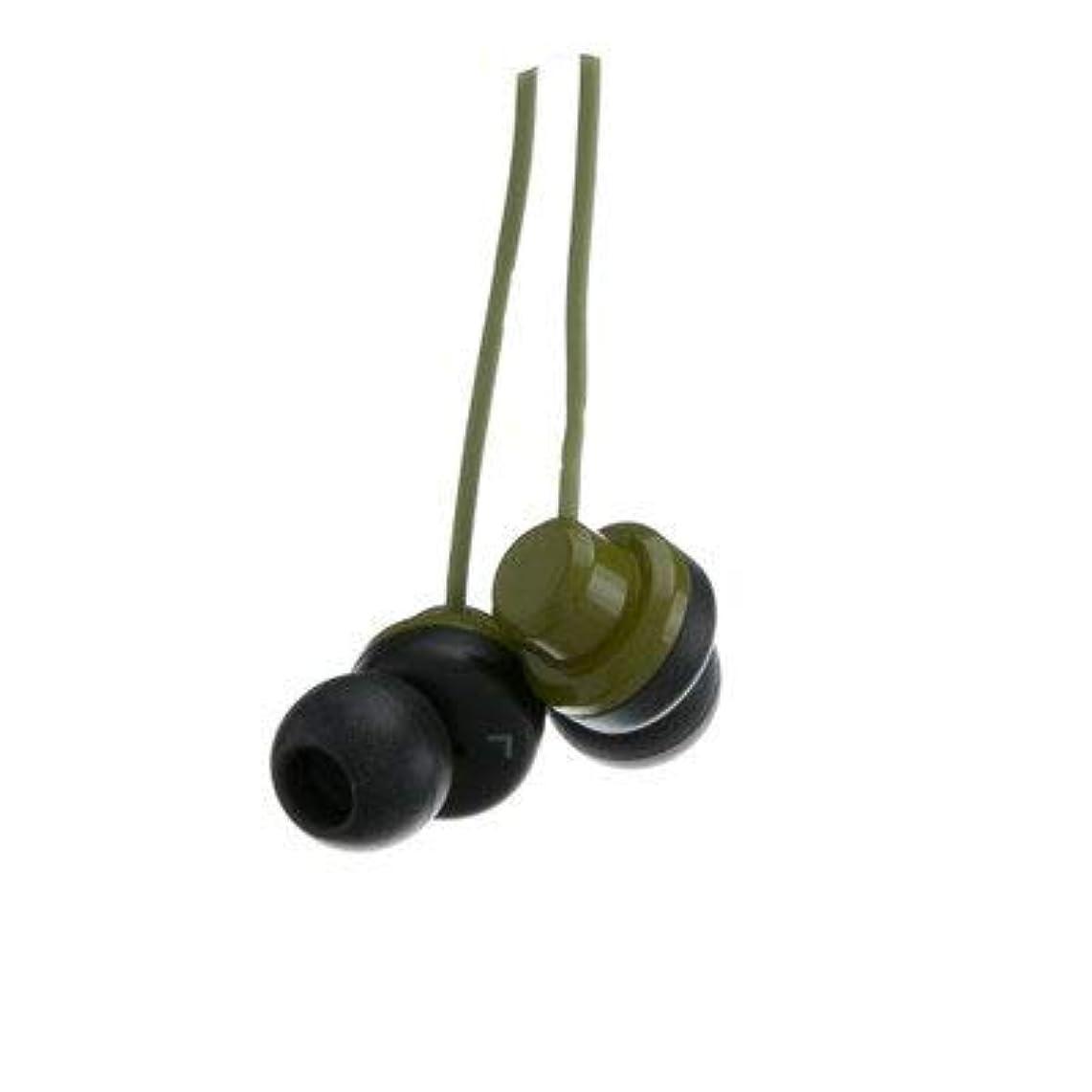 資産パワー平等グリーンJVC Riptidz inner-earイヤホンヘッドフォン( 5パック) by NETCNA