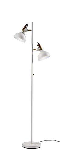 "65"" Brunswick Collection Floor Lamp White - Adesso"