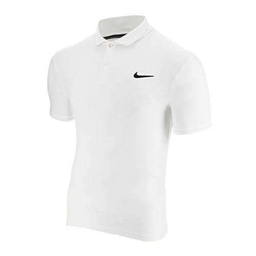 Nike M NKCT Dry Polo Team Chemise Homme, White/White/(Black), FR (Taille Fabricant : XL)