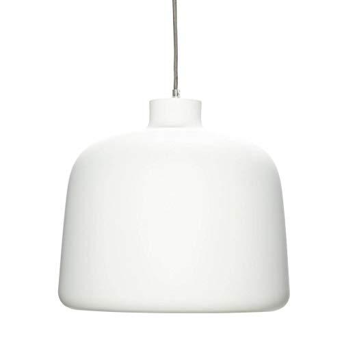 Hübsch Lampe, Aluminium, Weiß/Kupfer ø35xh29cm, E27/40W