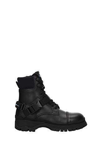Prada, Damen Stiefel & Stiefeletten, Schwarz - Schwarz - Größe: 36 EU