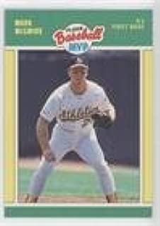 Mark McGwire (Baseball Card) 1989 Fleer Baseball MVP - Box Set [Base] #28