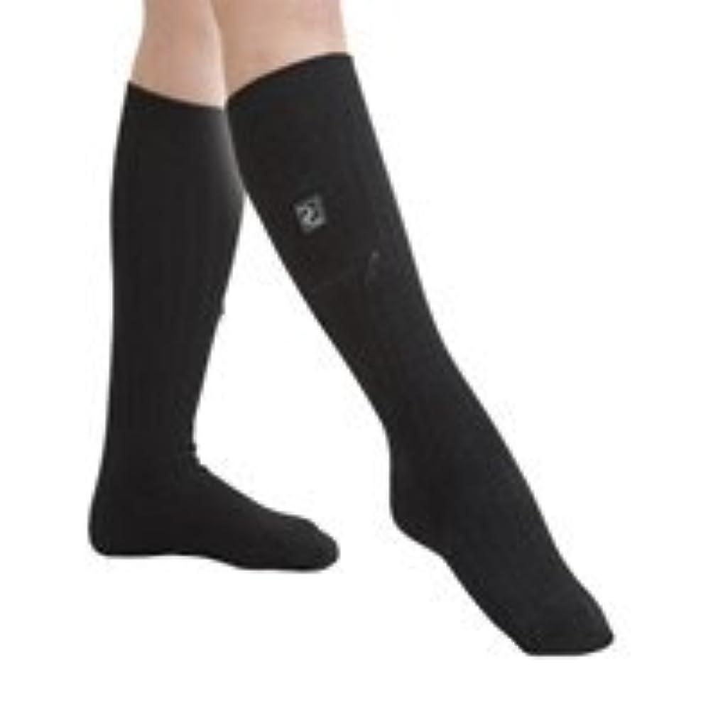 教えストライクシソーラス充電式カーボンヒーター付靴下『あんよのこたつ』/【サイズ】ML(約25~27cm)