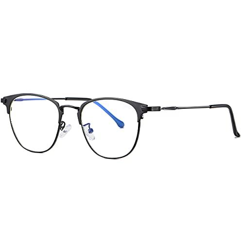 Lunettes anti lumière bleue et UV pour Homme et Femme- Blue Light Blocking Glasses- Lunettes GAMING ou Travail- Verre sans Correction-Accessoire de protection pour écrans PC/téléphone/console.