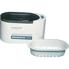 Branson B200 Compact Ultrasonic Cleaner 15 oz Capacity