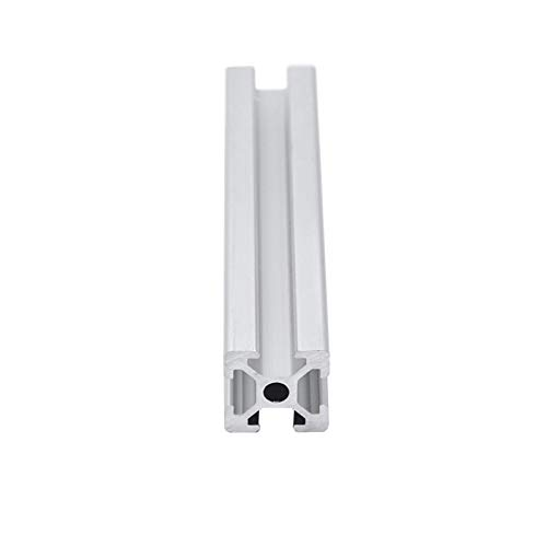ZSHENG® 4pcs Perfil de Aluminio 2020 Extrusión EU Estándar Estándar Impresora 3D Piezas Anodizada Lineal Rail Aluminio Perfil Bulk Precio (Color : 650 mm)