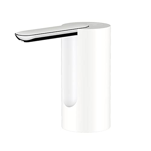 Nesface Bomba de agua plegable para uso doméstico, dispensador de jarra de agua eléctrica portátil, bomba de agua potable de carga USB universal