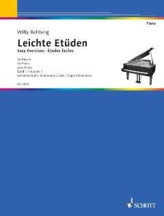 NEUER ETUEDENGANG 1 - arrangiert für Klavier [Noten/Sheetmusic] Komponist : REHBERG WILLY