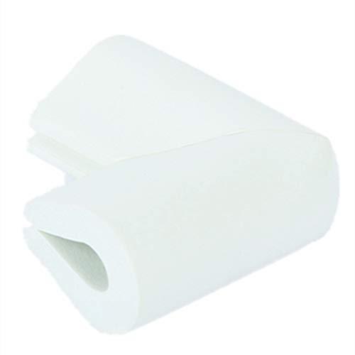 Protection Coin de Table, Morbuy Type U Pack De 10 Enfant Plus épais Doux Anticollision Angle Protège Bébé Bambin Sécurité Meuble (Blanc pur)