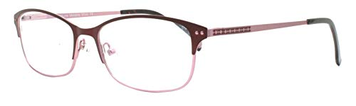 Sightline Melanie New Release Multi Focus Womans Reading Glasses with Designer Frame and Anti-Glare Coated Progressive Magnification Lens