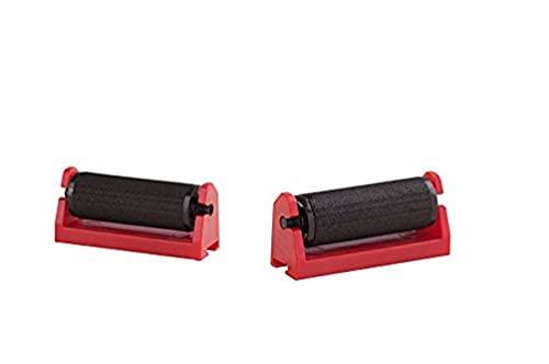 AVERY - Pack de 5 rouleaux encreur noirs pour pince à étiqueter,