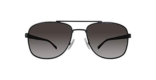 BOSS ORANGE BOSS0762/S HUGO BOSS Sonnenbrille BOSS0762/S-25B-58 Herren Aviator Sonnenbrille 58, Schwarz