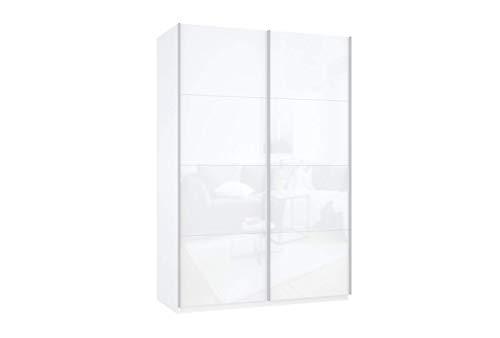 Prime 2020 Schwebetürenschrank mit kompletter Glasfront 140x210, 02137