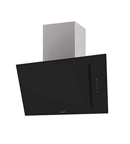 Cata | Campana Extractora | Modelo THALASSA 900XGBK | Campana Decorativa de Pared | Ancho de 790 cm | Color Negro |Clase de Eficiencia Energética A+++