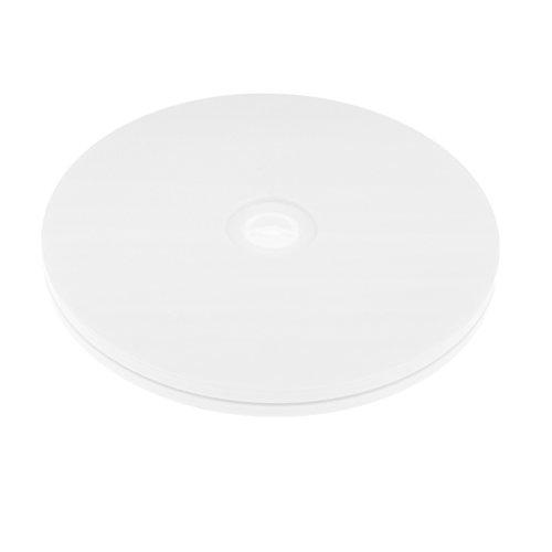 Homyl Acryl Drehteller Präsentierteller Drehplatte Schmuck Uhr Stand - 3 Zoll/ 4 Zoll/ 5 Zoll/ 5,5 Zoll/ 6 Zoll - Weiß, 6 Zoll