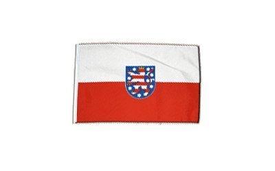 Fahne Flagge Deutschland Thüringen 30 x45 cm by Flaggenfritze