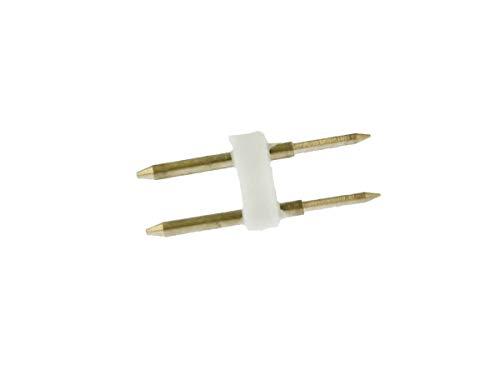10 pièces 2 broches pas de prise 6mm pour connexion de bobine 220V bande de LED mono couleur avec redresseur de transformateur d\'alimentation