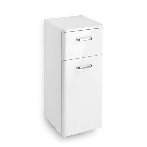 Pelipal 359 Piolo Unterschrank, Holzdekor, Weiß Hochglanz, 33,0 x 30,0 x 72,0 cm