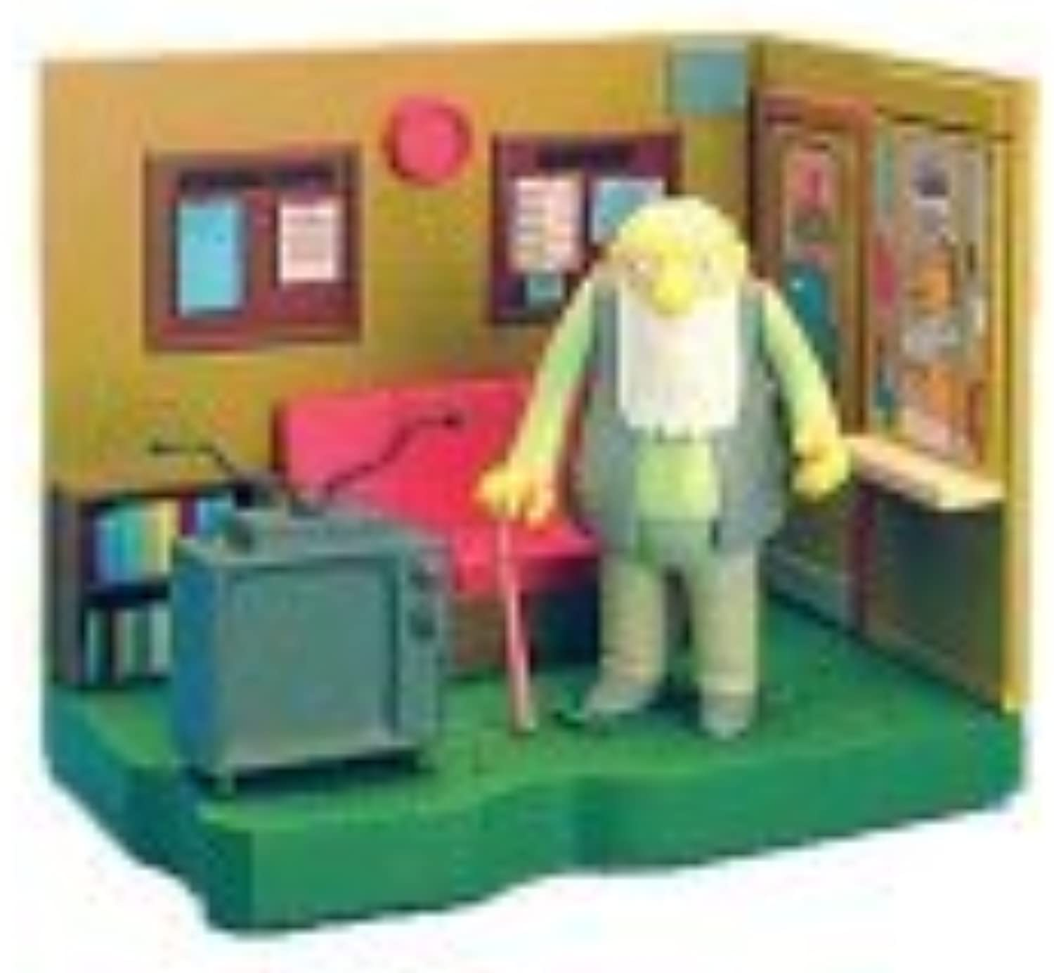 The Simpsons Series 8 Playset Springfield Retirement Castle with Jasper [Toy] by The Simpsons