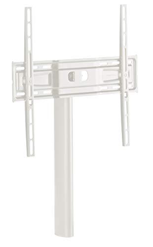 Meliconi, TV-Ständer MyTv 400, entworfen für Möbel der Linie MyTv Stand, Vesa 200-300-400, für 32-55 Zoll-TVs, Weiß, vertikale und horizontale Neigung