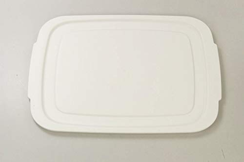 Tupperware BrotMax 2 Deckel weiß Brotkasten Brotwächter
