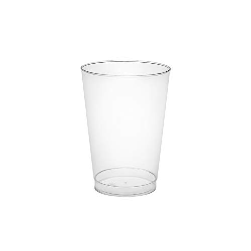 Party Essentials Party Supplies Tableware, 100-Count, Clear
