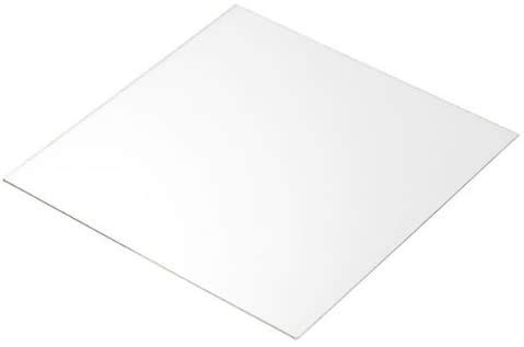 0.5mm Clear Thin PETG Plastic Sheet A3 A4 A5 A6 Sizes to Choose Model Making Dolls House Windows (A4 (297mm x 210mm))
