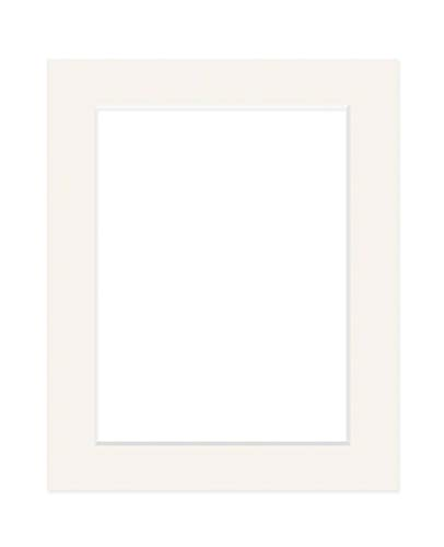 Deha Passepartout, 50x70 cm, für Bilder im Format 40x60 cm, Elfenbein