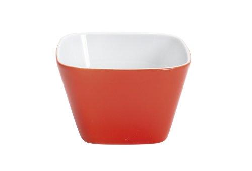 Kahla 206010A70960C kleine Schale eckig Abra Cadabra, rot-orange