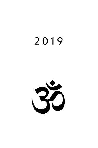 2019: ENE - DIC Agenda Semanal 152 x 229 mm 1 Semana en 2 Páginas 52 Semanas Planificador y Calendario Aum Símbolo