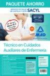 Paquete Ahorro Técnico/a en Cuidados Auxiliares de Enfermería del Servicio de Salud de Castilla y León (SACYL). Ahorra 85 € (Temario volúmenes 1, 2 y ... Simulacros de examen; acceso a Campus Oro)