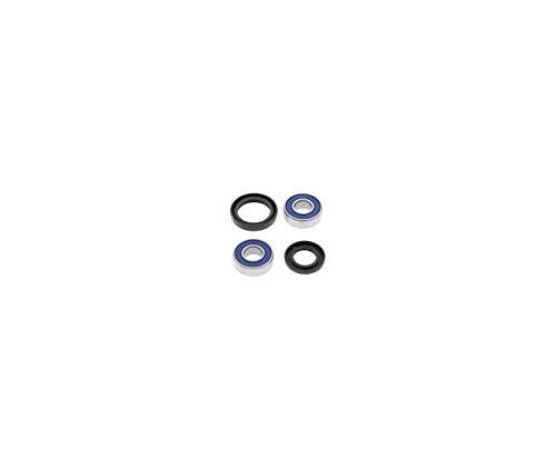 Compatible avec/Remplacement pour 500 GPZ S-94/06- KIT ROULEMENTS DE ROUE AVANT -25-1385
