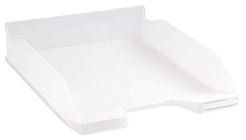Exacompta Office - Bandeja de correo, color blanco translúcido