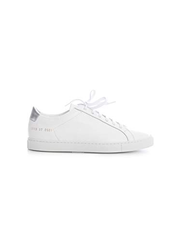 COMMON PROJECTS Luxury Fashion Damen 60190509 Weiss Leder Sneakers | Frühling Sommer 20