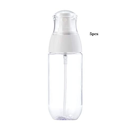 5PCS Voyage Beaux Mist Vaporisateur Container Voyage for les cosmétiques Rechargeables Parfum Soins de la peau Lotion (Taille : 120ML)