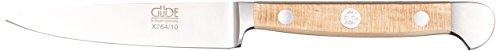 Güde Alpha Couteau de cuisine forgé pour adulte, série chêne alpha, double couteau, manche en bois de platane, multicolore, taille unique