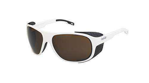 Bollé Graphite zonnebril mat wit X zwart large unisex – volwassenen
