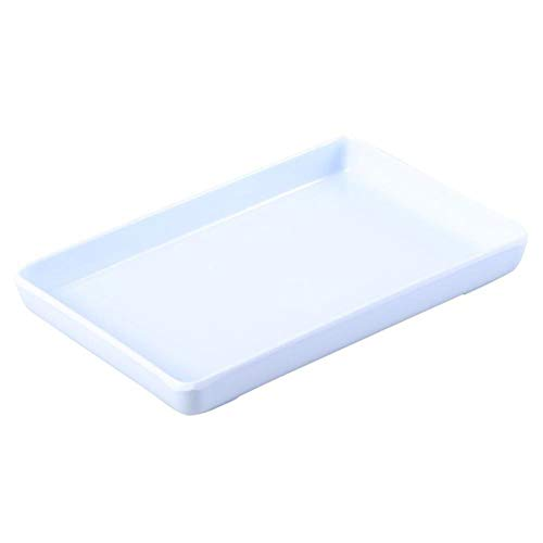 1 Pc-trinket Tray Kunststoff Dekorativen Weißen Speicher-organisator-halter-platten-schmucksache Dish Für Armbänder Ohrringe Ringe